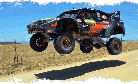 Baja Road Race off-road vehicle